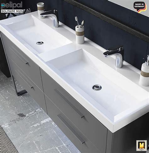 Waschtisch 160 Cm by Pelipal Solitaire 9025 Waschtisch Set 160 Cm Mineral