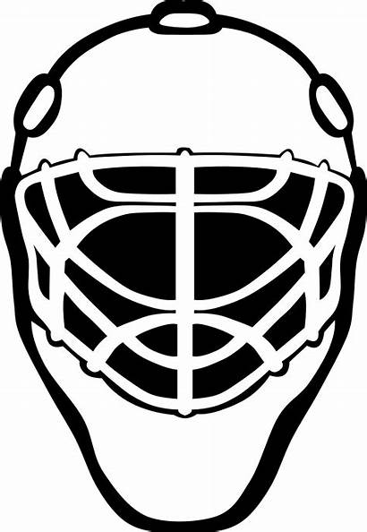 Goalie Clipart Mask Hockey Clip Svg Library