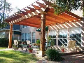 Detached Deck Plans by New Orleans Pergola Installation Custom Outdoor