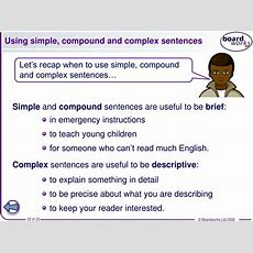 Ppt  Complex Sentences Year 7 Sentence Starters Powerpoint Presentation Id525008