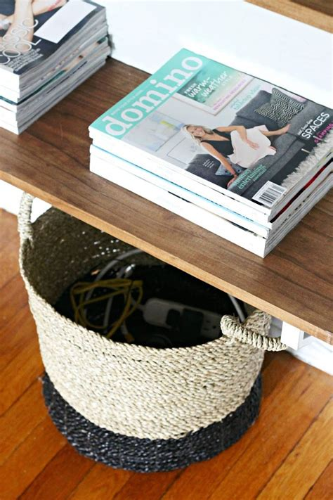 hide  unsightly cords routers    stylish