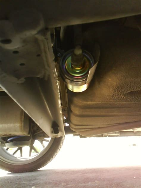 85 Chevy Fuel Filter Location by Fuel Filter Change Aveo Sedan 2010 Lt