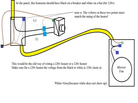 Baseboard Heater Thermostat Wiring Diagram Forums