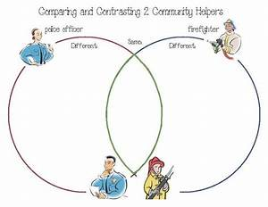 Community Helpers Venn Diagrams