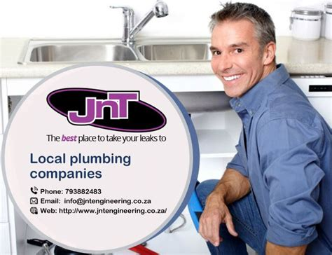 jnt engineering local plumbing company   local