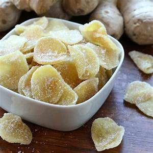 Candied Ginger Recipe — Dishmaps