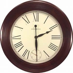 Large vintage howard miller wall clock quartz movements for Vintage howard miller wall clock