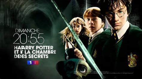 harry potter et la chambre des secrets gratuit harry potter et la chambre des secrets dimanche 20h55