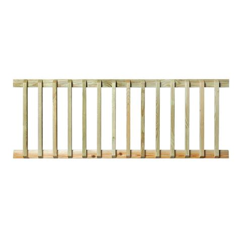 Home Depot Banister Rails by Pressure Treated 6 Ft Handrail 132380 The Home Depot