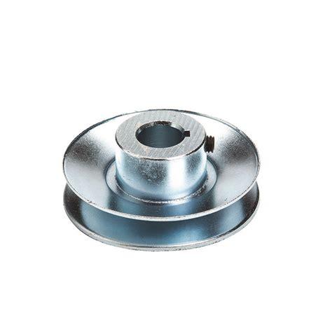 oregon 44 316 steel v belt drive pulley 3 4 x 3 1 4 lawnmower pros
