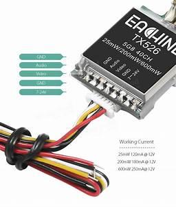 Eachine Tx526 5 8g 40ch 25mw  200mw  600mw Switchable Av