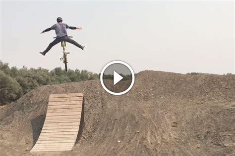 Watch: 49-year-old Can Still Backflip His Mountain Bike