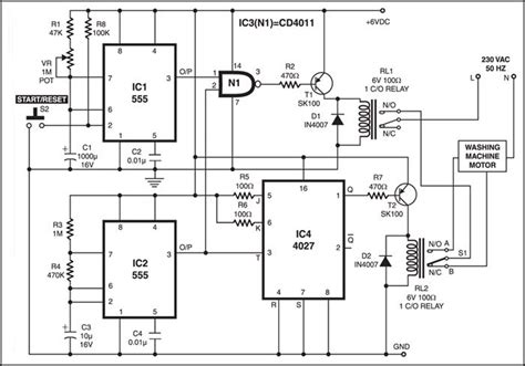 washing machine motor controller full project available