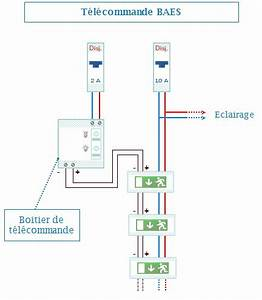 Bloc De Sécurité : sch ma de raccordement electrique bloc de secours schema ~ Edinachiropracticcenter.com Idées de Décoration
