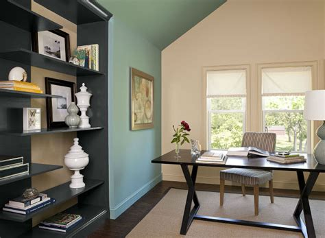 10 Home Office Color Schemes And Ideas