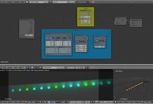 blender render - How to create lighting for an LED strip ...