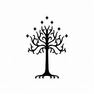 Lord of the Rings White Tree of Gondor - Vinyl Decal