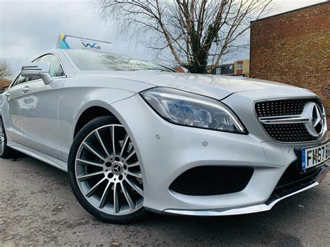 Exclusive reports and current films: Used 2018 Mercedes-Benz CLS-Class CLS450 AMG Line for sale in Leicester - CarGurus