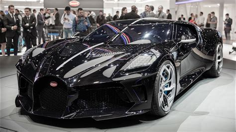 Unveiled at the 2019 geneva motor show it joins the divo as a derivative from (.) top speed. Bugatti La Voiture Noire: $12.5 Million Hypercar ...