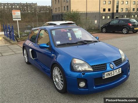 Renault Clio V6 For Sale by Used 2003 Renault Clio V6 Renaultsport V6 255 For Sale In
