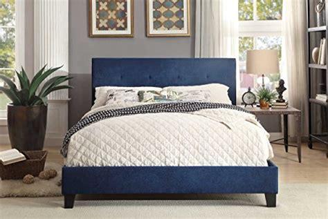 Homelegance Upholstered Cal King Platform Bed Frame W