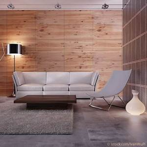 Graue Wand Wohnzimmer Braune Mobel