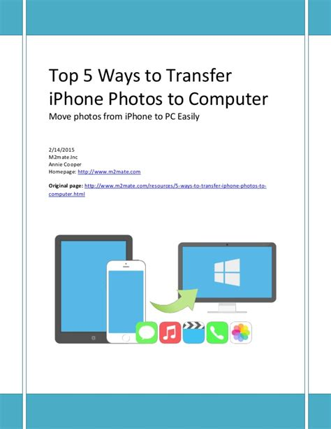 how to move from iphone to computer how to move iphone photos to pc for storage