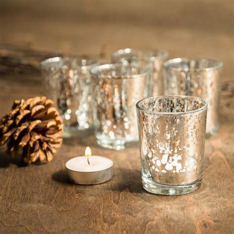 3998 tea light votives set of 72 silver mercury glass candle votive mercury glass tea