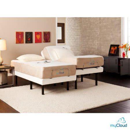 cing mattress walmart mycould adjustable bed frame split california king