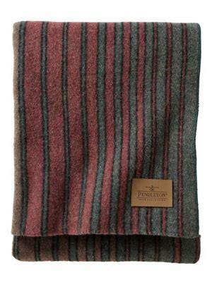 yakima camp throw pendleton hemrich stripe mix  wool