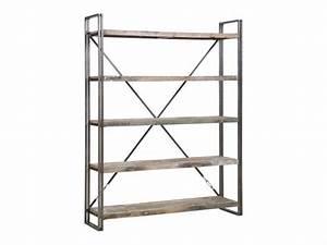 Bücherregal Metall Holz : regal im industriedesign b cherregal aus metall und holz h he 210 cm ~ Sanjose-hotels-ca.com Haus und Dekorationen