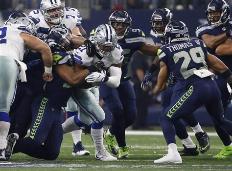 dallas cowboys path  victory   seattle seahawks