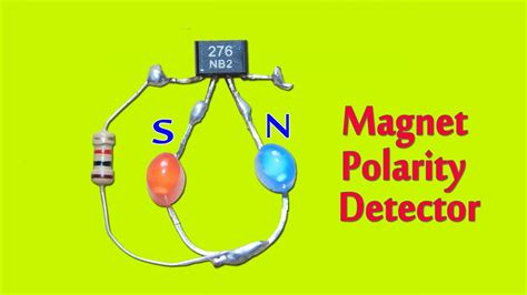 Simple Magnet Polarity Detection Circuit Youtube