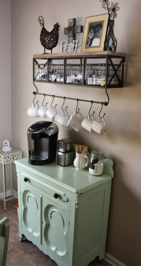 A well prepared cup of coffee on your desk is the perfect way to begin the day. 20 Charming Coffee Stations to Wake Up to Every Morning