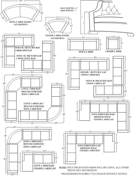 sectional sofa dimensions marriot sofa and sectional sizes