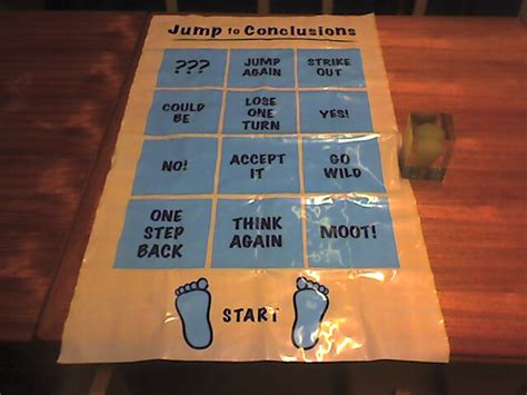 jump to conclusions doormat it s a jump to conclusions mat of course flickr photo