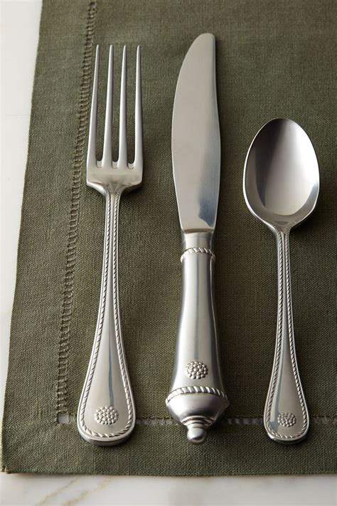 flatware silverware juliska setting place sets piece berry thread neimanmarcus silver cutlery utensils strategist service close gold shipping sold