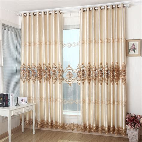story time golden luxury soluble embroidery curtain fabric