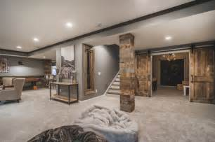 gray and black bathroom ideas harlan court finished lower level rustic basement