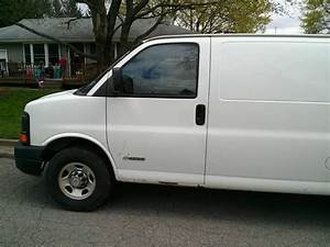 Purchase Used 2004 Chevy 3500 Ext  Cargo Van One Owner In