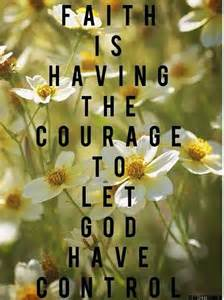 Poems About Faith and Courage