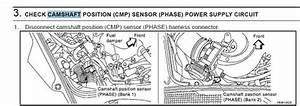 2003 Nissan 350z Camshaft Sensor Location  Engine No Vg33