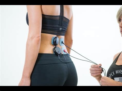 Electric Muscle Stimulator For Lower Back Pain   Health ...