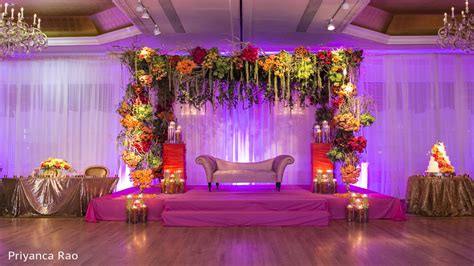simple stage decorations  wedding wedding reception