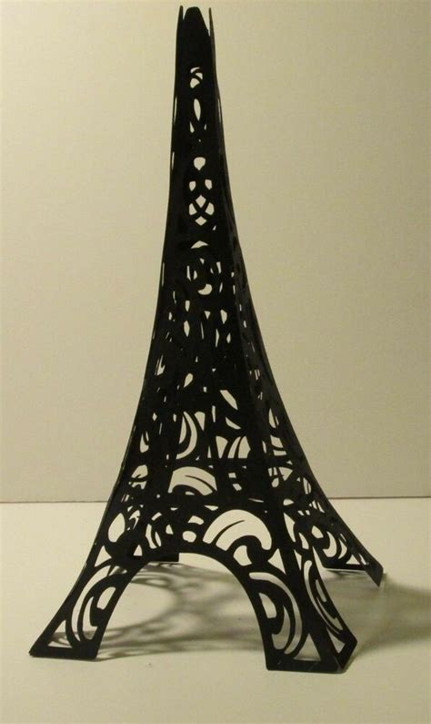 Tower Decorations by Themed Paper Eiffel Tower Cake Topper Decoration 8