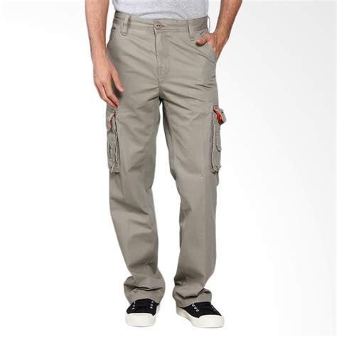 jual cardinal casual cargo celana panjang pria crem ebgx013 05d harga kualitas
