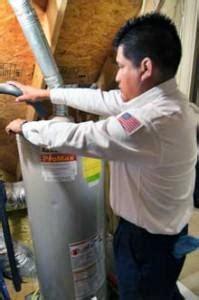 water heater flush hot water heater inspection dallas