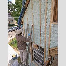 Air Sealing A Drafty House  Hgtv