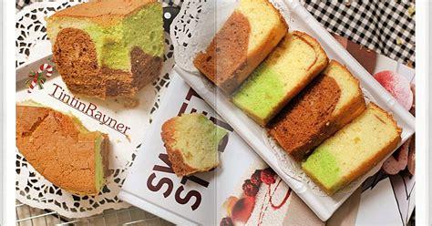 Konon kue lumpur di usut dari asalnya yaitu dari lisbon portugal, dan di sana bernama. Resep Chiffon Cake 3 Rasa ( Vanilla Choco Pandan menul2 ...