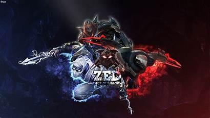 Zed Legends League Project Lol Wallpapers Cool